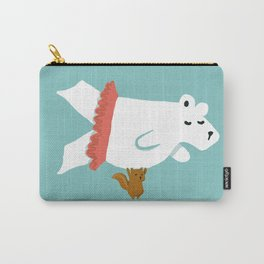 You Lift Me Up - Polar bear doing ballet Carry-All Pouch