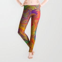 Unicorn psychedelic ice cream Leggings