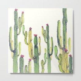 vertical cactus Metal Print