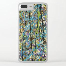 Forest Inner Trail Clear iPhone Case