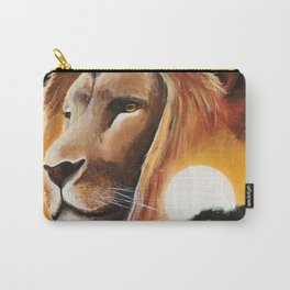 Animal - Lion - Quiet strength - by LiliFlore Carry-All Pouch