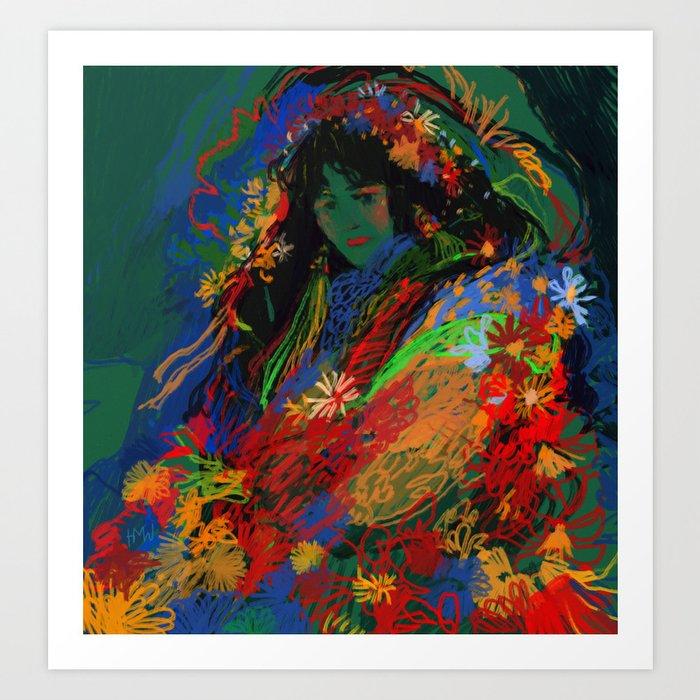Chrysanthemum Kunstdrucke