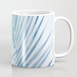 Coastal Palms Watercolor Coffee Mug