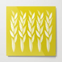 Eternity in Gold Leaf Metal Print