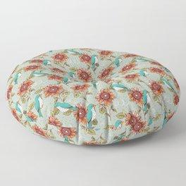 Bye Bye Birdie Floor Pillow