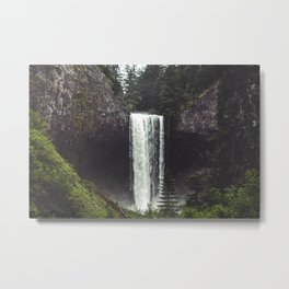 Oregon Falls Metal Print