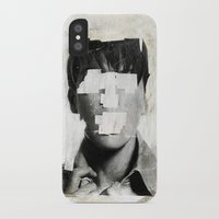 ruben iPhone & iPod Cases featuring Faceless | number 02 by FAMOUS WHEN DEAD