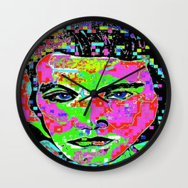 Long Live the King of Rock and Roll 2 Wall Clock