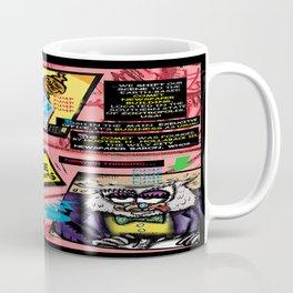 Bird of Steel Comix - Page #3 of 8 (Society 6 POP-ART COLLECTION SERIES)  Coffee Mug