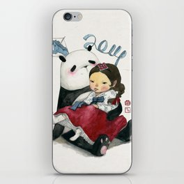 Panda New Year iPhone Skin