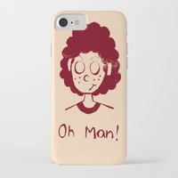 himym iPhone & iPod Cases featuring The curse of the Blitz by Chiaris