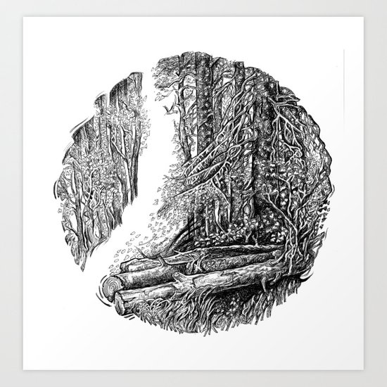Old and New Art Print
