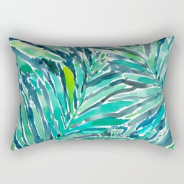 TROPICAL CANOPY Palm Leaves Rectangular Pillow