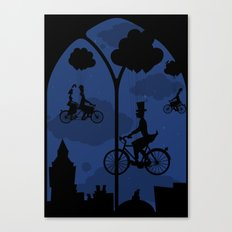 Let's go fly a bike Canvas Print