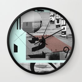 Merewether Baths Wall Clock