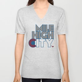 Mile High City - A Unisex V-Neck