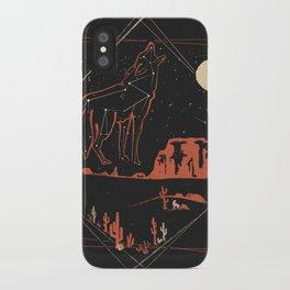 Heaven's Wild Coyote iPhone Case