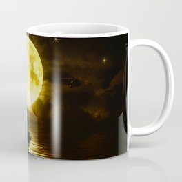 Beauty Mermaid Starry Night Coffee Mug