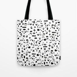 Paper Pieces Tote Bag