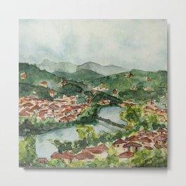 Florence Views Metal Print