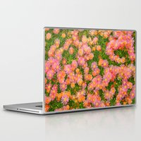 blanket Laptop & iPad Skins featuring Daisy Blanket by KL Photography