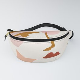 Abstraction_Minimalist_Face Fanny Pack