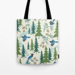 Sierra Forest Tote Bag