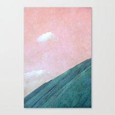 blue hill Canvas Print