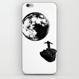 Boy and the Moon iPhone Skin