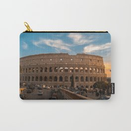 Coloseum at sunset Carry-All Pouch
