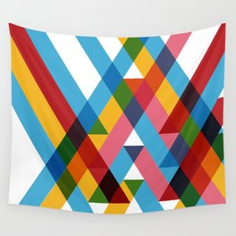 Ribbons Overlay ///www.pencilmeinstationery.com Wall Tapestry