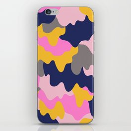 Melting Camo Pop iPhone Skin
