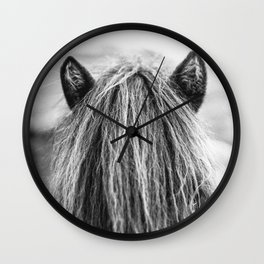 Wild Horse no. 1 Wall Clock