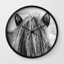 Wild Horse no. 1 Wall Clock