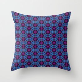 Neon Flux 01 Throw Pillow
