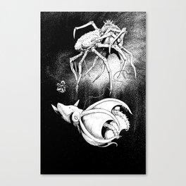 MARINE SNOW Canvas Print