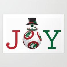B B Eight Joy Art Print