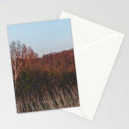 A calm evening Stationery Cards
