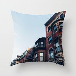 Newbury Street Throw Pillow