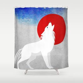 Beast of the Night Shower Curtain