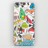 nori iPhone & iPod Skins featuring Sushi Bar: Point of Nori-turn by ieIndigoEast
