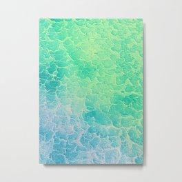 Tropical Waters Metal Print