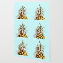 Summer Pineapple Wallpaper