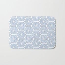 Flower Tiles Bath Mat