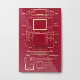 DS  Metal Print