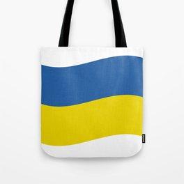 Ukrainian flag Tote Bag