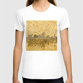 dallas city skyline T-shirt