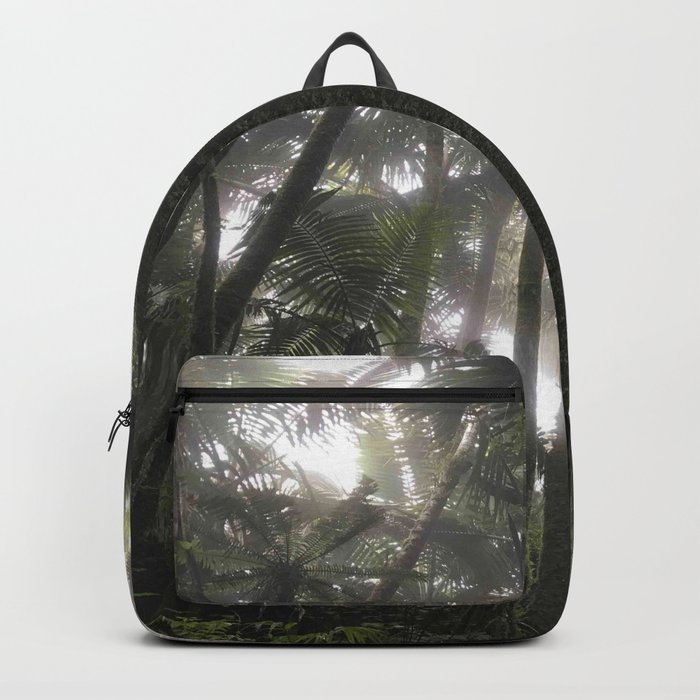 Tropical Jungle - Palm Trees Backpack