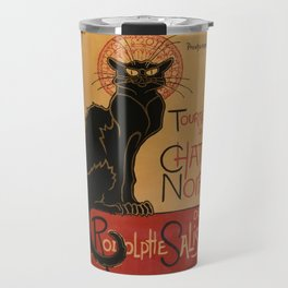 Le Chat Noir - Théophile Steinlen Travel Mug
