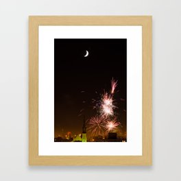 Happy 4th! Framed Art Print